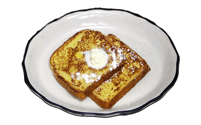 1/2 French Toast