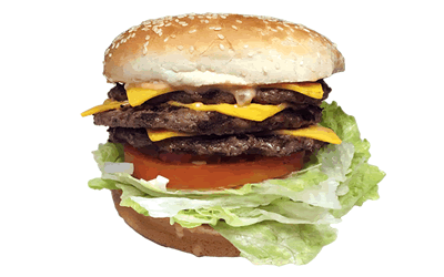 Triple Cheeseburger